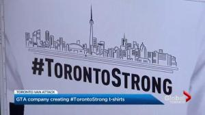 GTA company creates #TorontoStrong t-shirts to support van attack families