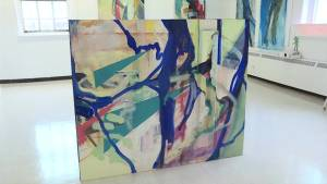Art exhibit at Queen's university features pieces from an all female graduating class