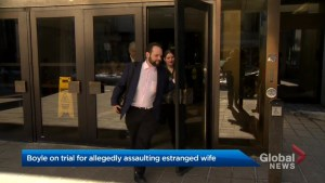 Joshua Boyle on trial for assaulting estranged wife