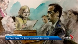 Family, friends of Dr. Elana Fric told judge how her murder has destroyed their lives