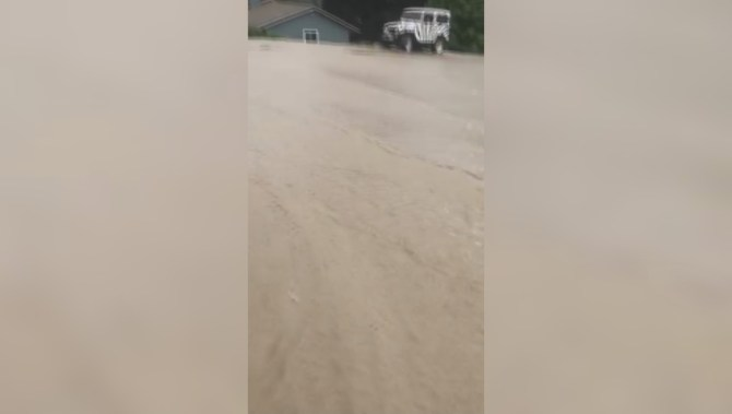 Water main break in Lake Country causes flooding, damage