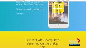 New app alerts Edmonton drivers about photo radar locations