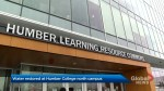 Humber College water restored after water main break closes campus