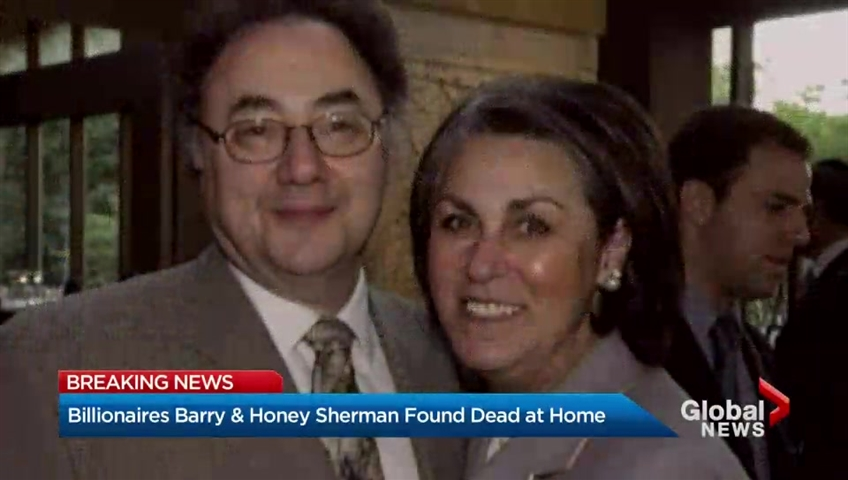 Billionaire Toronto couple died of 'ligature neck compression.' Homicide detectives investigating