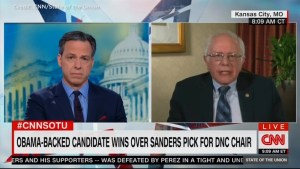 Sanders refutes Trump's claim DNC chair race was 'rigged'