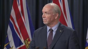 'I do believe the federal government is now totally accountable': B.C. Premier John Horgan