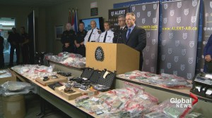 $4M in fentanyl, cocaine and meth seized in one of Alberta's largest drug busts: ALERT
