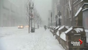 Bomb cyclone: Video shows weather conditions across much of the United States