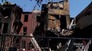 Residents start cleaning up following suspicious St. Henri fire
