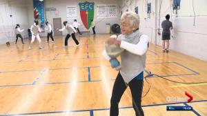 A look at a fascinating figure in Edmonton's fencing community