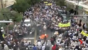 Trump's decision to withdraw from nuclear deal prompts massive protests in Iran