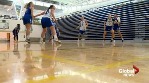Pronghorns basketball team riding wave of momentum into semi-final