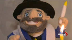 The Jewish answer to Elf on the Shelf, The Mensch on a Bench, is taking off in the GTA.