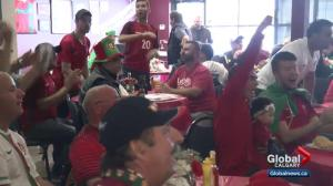 Kevin Smith hangs out with World Cup Portugal fans in Calgary