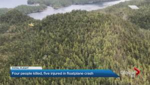 Pilot may have died in B.C. float plane crash