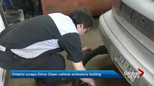 Ontario government to scrap Drive Clean program (01:45)