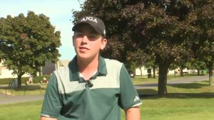 Kingston golfer Ashton McCulloch is highly touted
