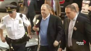Harvey Weinstein turns himself into New York police