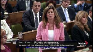 Ambrose slams Trudeau over 'Elbowgate': He had no business being anywhere but his seat