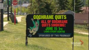 'Cochrane Quits': Retiring pharmacist organizes campaign to get the whole town to stop smoking