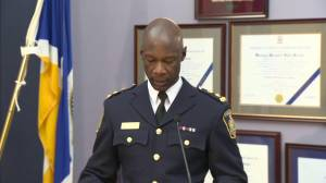 Winnipeg Police Chief speaks on the importance of fentanyl awareness