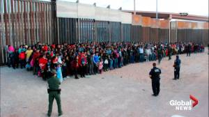 Border agents apprehend a record-setting number of migrants at the southern border in El Paso