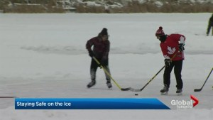 Staying safe on the ice in Toronto