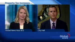 Calgary city manager talks taxes