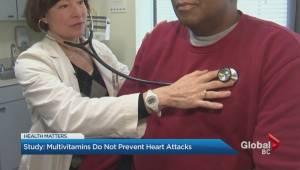 Multivitamins do not prevent against heart attacks