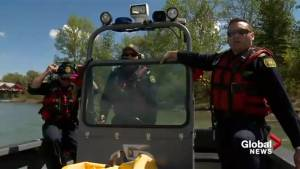 Calgary Fire Department reminding citizens to be safe on the water