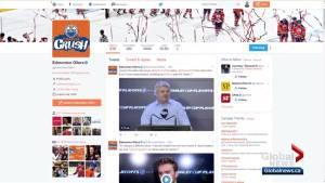 Edmonton Oilers gain 26,000 Twitter followers during NHL playoffs