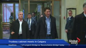 Justin Trudeau's cabinet retreat underway in Calgary