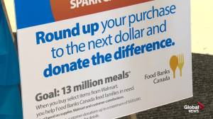 Walmart fights hunger in Edmonton as part of national campaign (02:32)