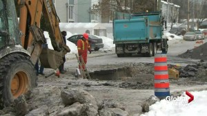 Water main break cuts water to Sainte-Geneviève residents