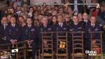 Firefighters who saved Notre Dame Cathedral honoured at Easter mass