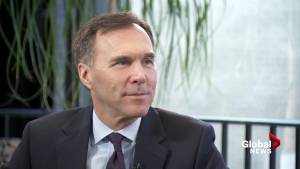 Sophie Lui sits down with Finance Minister Bill Morneau (10:51)