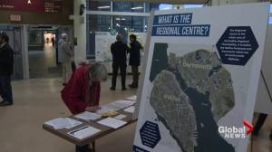 Halifax looking for public feedback on city's centre plan (01:53)