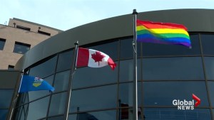 Lethbridge one of 50 cities to raise Pride flag this week