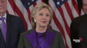 Hillary Clinton delivers special message to young voters