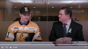 Granted exceptional status, Shane Wright selected 1st overall by Kingston Frontenacs