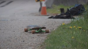 Skateboarder dies after collision involving semi-truck in New West