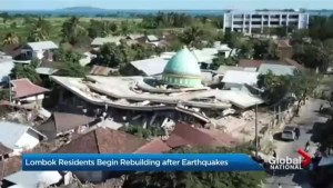 Indonesian island of Lombok struggles to recover as earthquake death toll nears 400