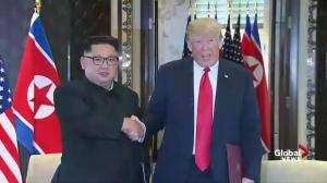 Trump-Kim summit: 'The world will see a major change' – Kim, Trump sign documents