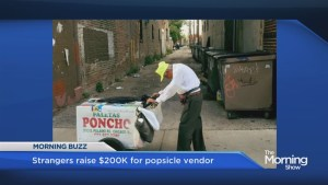 89-year-old popsicle man getting  $200,000 from strangers