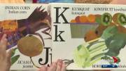 Play video: Language researchers say traditional alphabet books confusing for kids