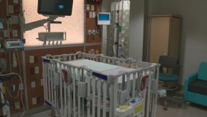 New unit inside the Stollery Children's Hospital