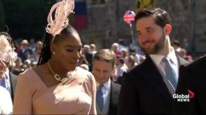 Royal Wedding: Serena Williams arrives at Windsor Castle