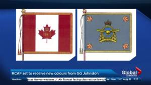 The RCAF's new colours
