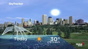 Edmonton early morning weather forecast: Tuesday, June 19, 2018