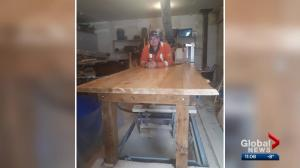 Fort McMurray family hopes to find missing table shipped to them from Newfoundland